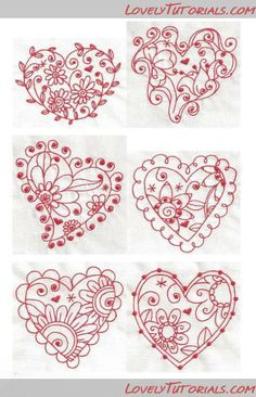 heart template! ooh, this would me amazing on a cake!                                                                                                                                                      More