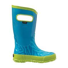 BOGS- KIDS Rain Boots Zebra Kids Rain Boots, Rubber Rain Boots, Aqua, Youth, Shoes, Fashion, Moda, Water, Zapatos