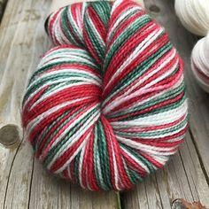 Hand Dyed yarn sock yarn superwash merino wool nylon gold