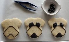 Boxer Dog Cookies