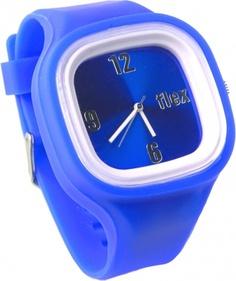 The blue Flex Watch represents Nika Water.