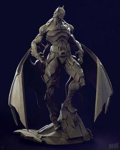 ArtStation - Bat Mech, by Geng GiBat Mech suit modeled based on a concept by Skan Srisuwan.More about batman here.