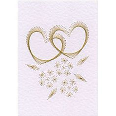 Form-A-Lines Stitching Cards Wedding Hearts