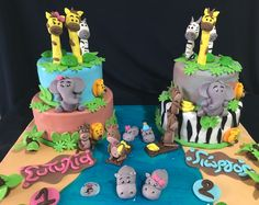Jungle birthday cake!