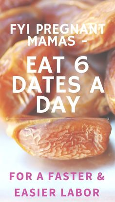 15 Date Recipes for Pregnancy (and a FASTER Labor!) - Birth Eat Love - This is a great pregnancy tip! Eating 6 date fruit a day can help you have a faster and easier labo - Date Recipes For Pregnancy, Dates During Pregnancy, Pregnancy Labor, Healthy Pregnancy Diet, Pregnancy Nutrition, Pregnancy Health, Mama Eat, Superfood Recipes, Pregnant Diet