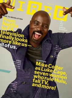 #MagLove 2 September 2016 — the best magazine covers this week — WIRED, September 2016: Mike Colter.