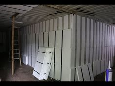 View the master details for Container InSerts and continuous insulation panels from InSoFast that are used together to achieve maximum air-tightness in minimum space. Container Homes Cost, Building A Container Home, Container Cabin, Container Buildings, Container Architecture, Container House Design, Shipping Container Homes, Rigid Insulation, Floor Insulation