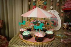 Lara's Carousel Party | CatchMyParty.com