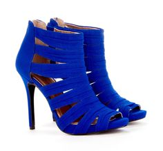 Go for bold heels