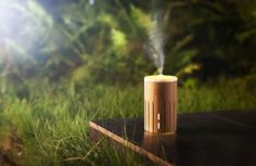 Fill your home with a smell-o-riffic Aroma Bamboo Diffuser. Harnessing the power of ultrasonic vibrations, it breaks down and diffuses essential oil and water i