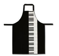 Piano Keyboard Apron