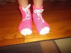 Knit Children Slippers/Custom order by inspirebynancy on Etsy, $12.00