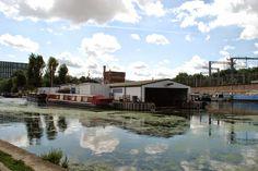 St. Pancras Basin,Regent's Canal, London