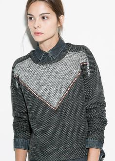 Mango Girls Cardigans & Sweaters Outfit's Collection 2014-15