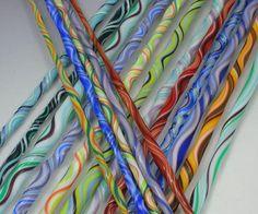 Harrach Glass: Wigwag lampwork stringer tutorial