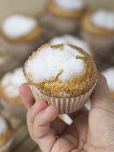Objetivo: Cupcake Perfecto.: Magdalenas de aceite de oliva y limón... ¡de las de toda la vida!