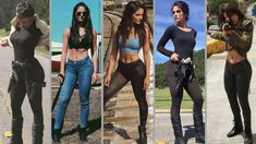 Badass Outfit, Lara Jean, Halloween Disfraces, Celebrity Outfits, Celebs, Celebrities, Fangirl, Hot Girls, Leather Pants