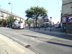Wellingborough Town Centre. Tuesday 23rd September 2014