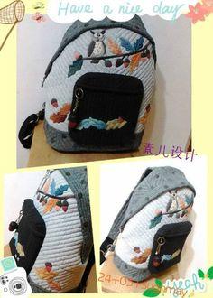 「素儿原创相约」24期猫头鹰双肩包团作统计。规则调整。 Owl Backpack, Quilted Bag, Lunch Box, Quilts, Blog, Quilt Sets, Bento Box, Blogging, Log Cabin Quilts