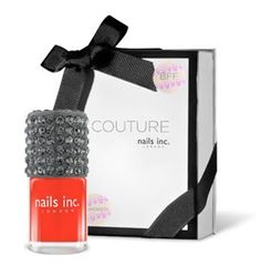 £20.00 COUTURE Choose any colour, add a cap of your choice, name your shade and personalise your luxurious gift box with gorgeous stickers.