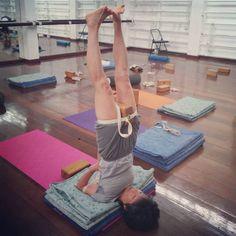 147 best iyengar yoga blocks images  iyengar yoga yoga