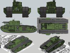 Mk.VIII M1A1 Jumbo by Giganaut.deviantart.com on @DeviantArt
