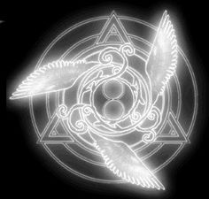 I love Tales of Symphonia. And the Cruxis logo has always been beautiful to me