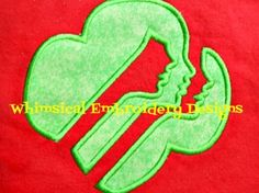You will receive sizes, hoops, sizes varies with designs. Machine Applique, Machine Embroidery Designs, Girl Scout Shirts, Daisy Girl Scouts, 4x4, Sewing, Projects, Log Projects, Dressmaking