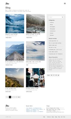 Titan is a powerful, Bootstrap based HTML5 #template with 48+ layouts for multipurpose #blog #blogger #writer #website. Download Now!