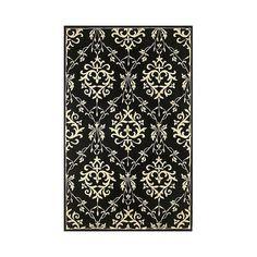 KAS Oriental Rugs Chateau Ivory/Black Rug