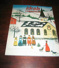 Vintage Ideals Christmas Ideals Magazine Vol 42 No 8 November 1985...Love the old issues!