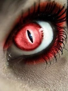 devil eyes - buy your crazy contact lenses and accessories at www.youknowit.com #contactlenses #halloween #fancydress