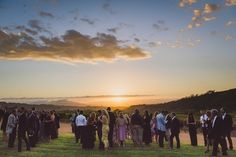 After canapes, Wedding Guests headed to the lawn area where they watched the sun set over the vineyards on Muratie Wine Estate in Stellenbosch. Beautiful views and winelands surroundings at this Stellenbosch Wedding Venue. Canapes, Garden Wedding, Real Weddings, Lawn, Vineyard, Wedding Venues, Wedding Inspiration, Wine, Sunset