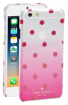 kate spade new york 'glitter dot' ombré iPhone 6 & 6s case available at #Nordstrom