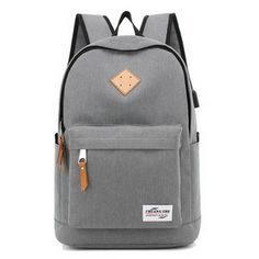8e74436f014a School bags teenager vintage casual solid backpack fashion women school  backpack shoulder Bag oxford MochilaTigernu rucksack