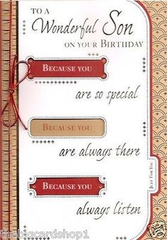 Special son 18th birthday birthday card birthday card httpwww happy birthday son birthday card bookmarktalkfo Choice Image