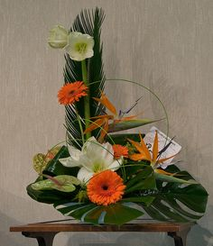 Flower Arrangement by Dennis Wright