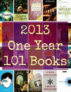 101 Books of 2013