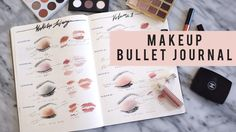 Makeup Library | Bullet Journal Set Up – Ann Le Style