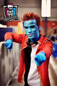 Yamil :  Holt Hyde from Monster High in Otaku House Cosplay Idol 2012