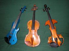 I so want a blue violin..so cool