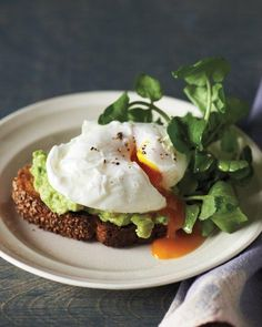 "See the ""Sesame Toasts with Poached Eggs and Avocado"" in our Rethink Your Morning Eggs gallery day brunch food martha stewart Sesame Toasts with Poached Eggs and Avocado Avocado Recipes, Egg Recipes, Brunch Recipes, Breakfast Recipes, Healthy Recipes, Quick Recipes, Brunch Food, Muffin Recipes, Wine Recipes"