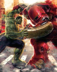 Hulk vs Hulk Buster! Which one will win?
