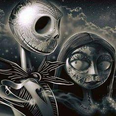 Nightmare Before Christmas...Jack Skeleton and Sally