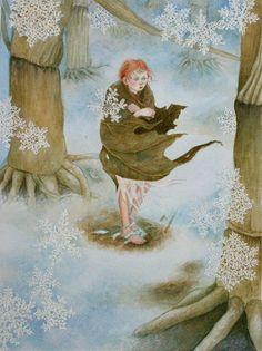 :: Lauren Mills Art :: Thumbelina