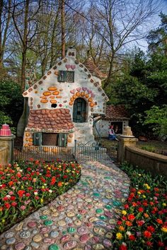 a candy house, HAHAHAHAHAHAH.....Efteling, Netherlands