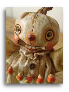 Candy Corn Doll