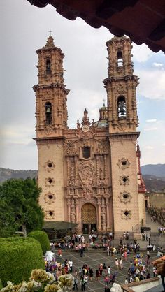 Iglesia de Santa Prisca, Taxco, Guerrero.