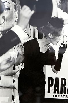 Mary Jane Russell by Saul Leiter, 1959