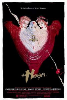 """The Hunger (1983) Miriam Blaylock collects Renaissance art, ancient Egyptian pendants, lovers, souls. Alive and fashionably chic in Manhattan, Miriam is an ageless vampire. """"Vampire"""" is not a word you"""
